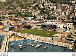 MONACO  Vue Sur Le Stade Louis II  .......... Depuis Le Port ( Football ) - Puerto