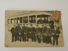 ALPES MARITIMES-CARTE PHOTO TRAMWAY NICE -GARE DE VAR SAINT LAURENT DU VAR  CAGNES-TRES ANIMEE SELECTION - Ferrovie – Stazione