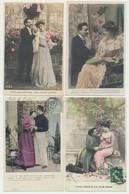 Lot De 36 Cartes - Fantaisie - Couples - 5 - 99 Postkaarten