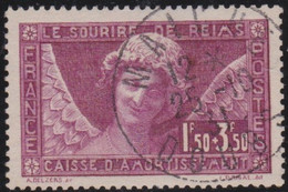France   .   Y&T   .    256   (2 Scans)          .     O   .      Oblitéré    .   /   .   Cancelled - Gebraucht
