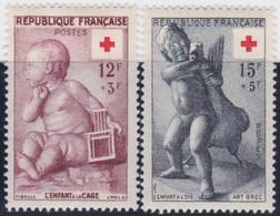France   .   Y&T   .    1048/1049      .   **    .      Neuf  Avec Gomme Et  SANS Charnière     .   /   .  MNH - Ongebruikt