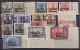 Bayern MiNr. 136-151 ** - Bavaria