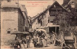 CASTILLON  MARCHE  FOIRE  CPA Ariege - Saint Girons