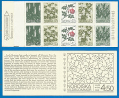 Sweden 1968 Year Booklet Mint MNH(**) Flowers - 1951-80