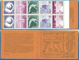 Sweden 1972 Year Booklet Mint MNH(**) Sport - 1951-80