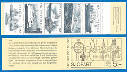 Sweden 1974 Year Booklet Mint MNH(**) Ships - 1951-80