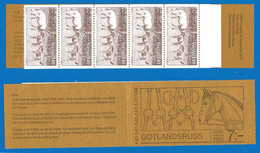 Sweden 1977 Year Booklet Mint MNH(**) Horses - 1951-80