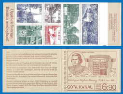 Sweden 1979 Year Booklet Mint MNH(**) Ships - 1951-80