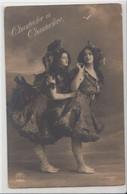 Chanteclerc Et Chanteclère-carte Photo - Opera