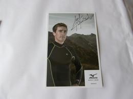 Biathlon - Autographe - Carte Signée Vincent Jay - Winter Sports