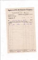42-R.Deveille..Spécialité De Veaux Blancs...Usson-en-Forez...(Loire)..1935 - Food
