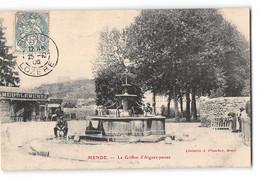 CPA 48 Mende Le Griffon D'Aigues Passes - Mende