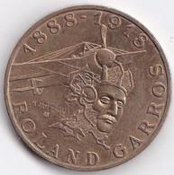 10 Francs Rolland Garros 1988 372-3A SUP - K. 10 Francs