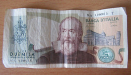 Italie - Billet 2000 Lire (Due Mila Lire) 1983 Banca D'Italia - 2000 Lire
