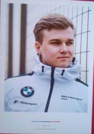 Erik Johansson ( BMW Motorsports Driver) - Trading Cards