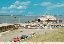 Car Ferry Loading At Caribou, Nova Scotia, For An Enjoyable Boat Trip To Prince Edward Island - Autres