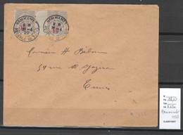 Tunisie - Lettre - Cachet De HAMMAMET - 1922 - Cartas