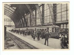 Aankomst Te Antwerpen Van Den Eersten Electrischen Trein - Antwerpen