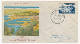 FRANCE - Enveloppe FDC - 10F NICE - 15 Octobre 1955 - 1950-1959