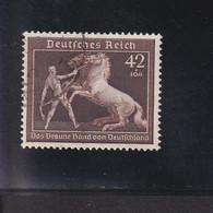 RAL2 /  Deutsches Reich  699 Braunes Band / Rundstempel - Usados