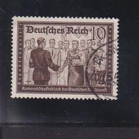 RAL2 /  Deutsches Reich  707 Kameradschaftsblock / Rundstempel - Gebraucht