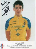 CYCLISME   TOUR DE FRANCE JEAN LOUIS HAREL MEDAILLE OLYMPIQUE  BARCELONE 1992 - Cycling