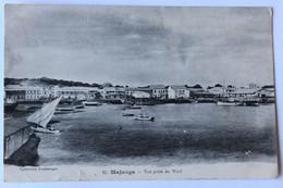CPA 1914 Madagascar Majunga Mahajanga Vue Prise Du Warf Périchaud 5 Quai Brancas Nantes - Madagascar