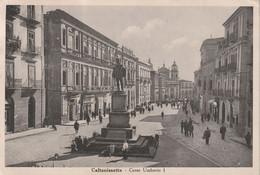Caltanissetta Italy Old Postcard Mailed - Caltanissetta