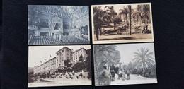 LOT De 7 Cp MONACO MONTE CARLO Salle De Concert Du Casino Beausoleil église Rocher Presqu'ile Hotel Riviera Palace - Collections & Lots