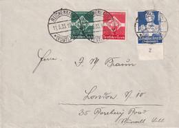 ALLEMAGNE 1935 LETTRE DE REICHENBACH - Briefe U. Dokumente