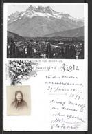 Carte P De 1897 ( Souvenir D'Aigle ) - VD Vaud