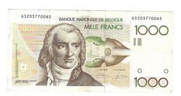 1000 Fr  -- Type 'Grétry' - 500 Francs