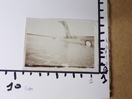 29/ Photo Ancienne Bizerte/Karouba 1930/31- Hydravion En Train De Couler? Retourné? - Aviation