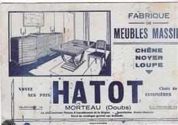 25,- MORTEAU  HATOT Fabrique De MEUBLES MASSIFS - M