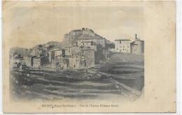 06. ASCROS.  VUE DE L ANCIEN CHATEAU FEODAL AN 1906 - Autres Communes
