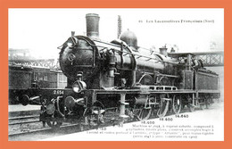 A515 / 245 Les Locomotives NORD ( Reproduction ) - Unclassified