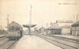 Belgique - Marche - Marloie - La Gare - Le Train - Marche-en-Famenne