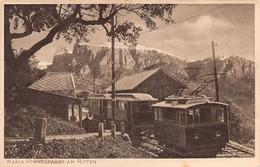 "012598 ""(BZ) MARIA HIMMLFAHRT, OBERBOZEN (1193M) MIT SCHLERN (2561M) AM RITTEN, TIROL"" TRENINO.  CART  NON SPED - Bolzano"