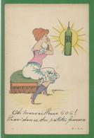 Carte Peu Courante - Illustrateur - Syphilis - Oh Merveilleux 606 Providence Des Petites Femmes  - Maladie Sexuelle - Unclassified