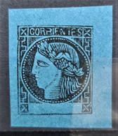 CORRIENTES 1860 - MLH - Sc# 3 - Corrientes (1856-1880)