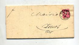 Lettre Cachet Metz  Sur Aigle Deliberation Chemins Vicinaux - Lettres & Documents