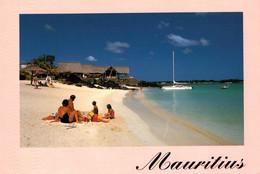 CPM - MAURICE - Vues De Plage ... Lot De 3 Cartes A Saisir (Affranchissement TP) - Mauricio