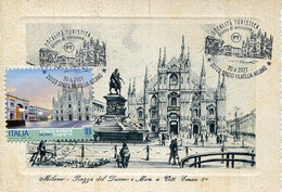 65848 Italia, Maximum 2021 The Cathedral Of Milano, Architecture, La Cattedrale Di Milano,  Vintage Card - Kerken En Kathedralen