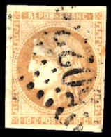 France 1849 10c Bistre Fine Used. - 1849-1850 Ceres