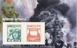 41422. Hojita Recuerdo Viñetas SEGUNDA GUERRA MUNDIAL. World War II. JAPON, Aviacion Japonesa, Kamikaze ** - WW2