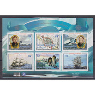 🚩 Discount - Ukraine Donetsk 2020 200th Anniversary Of The Discovery Of Antarctica  (MNH)  - Ships, Researchers - Bateaux