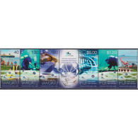 🚩 Discount - Fiji 2014 Under Water Cable - Joint Issue With Vanuatu  (MNH)  - Communication, Telecommunication - Fidji (1970-...)
