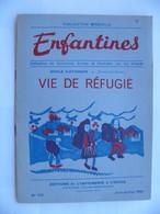 Enfantines N° 164 Vie De Réfugiés Ecole Matignon Côtes D'Armor 1951 - 6-12 Years Old