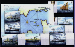 Jersey 2020. Europa - CEPT. Ancient Postal Routes. Postage Ships.  MNH** - Jersey