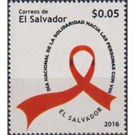 🚩 Discount - Salvador 2016 Stop AIDS  (MNH)  - The Medicine - Salvador